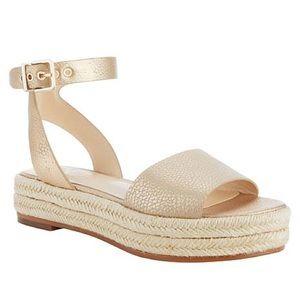 Vince Camuto Kathalia Leather Flatform Sandal